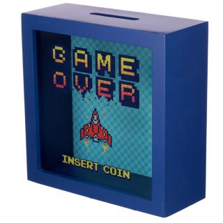 Ablakos Persely - Game Over - INSERT COIN